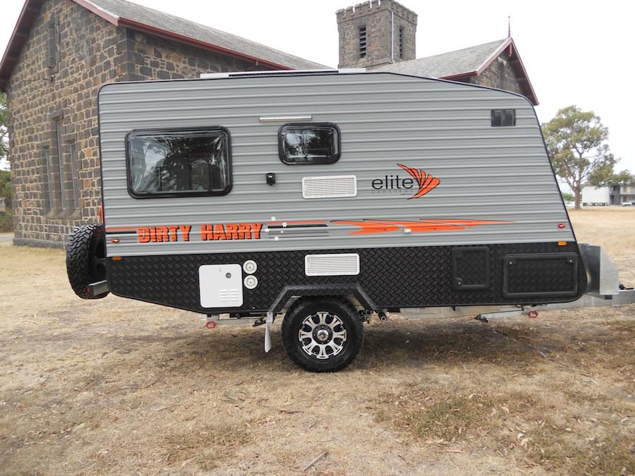 dirty harry off road caravans by elite caravans